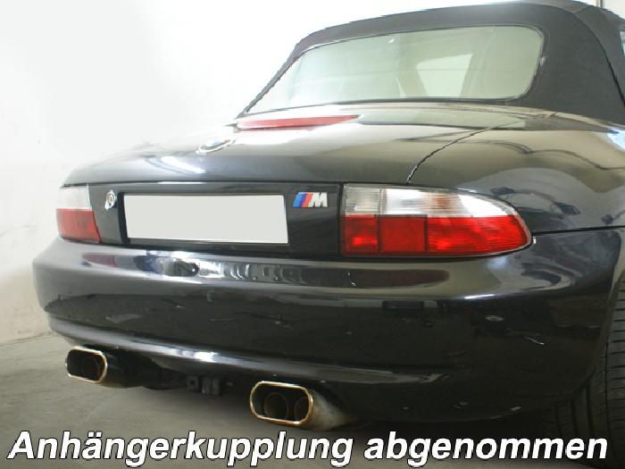 Anhängerkupplung für BMW-Z3 - 1995-1999 Roadster, E36/7 Ausf.:  vertikal