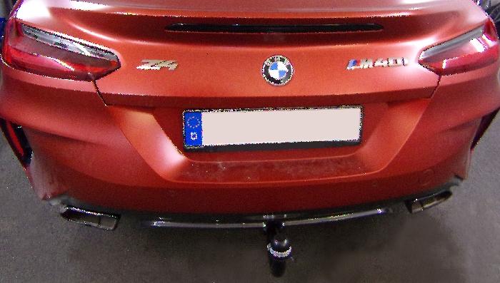 Anhängerkupplung für BMW-Z4 G29 Roadster, M40i, nur für Heckträgerbetrieb, Baujahr 2018-