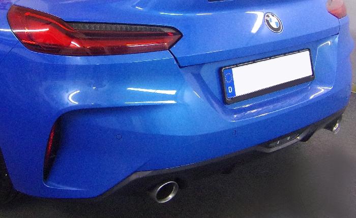 Anhängerkupplung für BMW-Z4 G29 Roadster, inkl. Sport-line, inkl. M-Sport, nur für Heckträgerbetrieb, Montage nur bei uns im Haus - 2018-