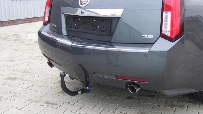 Anhängerkupplung für Cadillac-CTS - 2009- Sport Wagon Ausf.:  vertikal