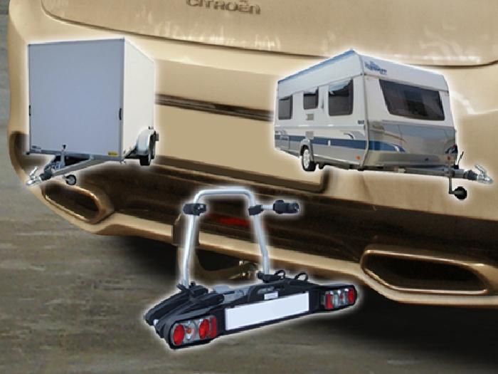 Anhängerkupplung für Citroen-DS5 - 2012- nicht Hybrid Ausf.:  horizontal