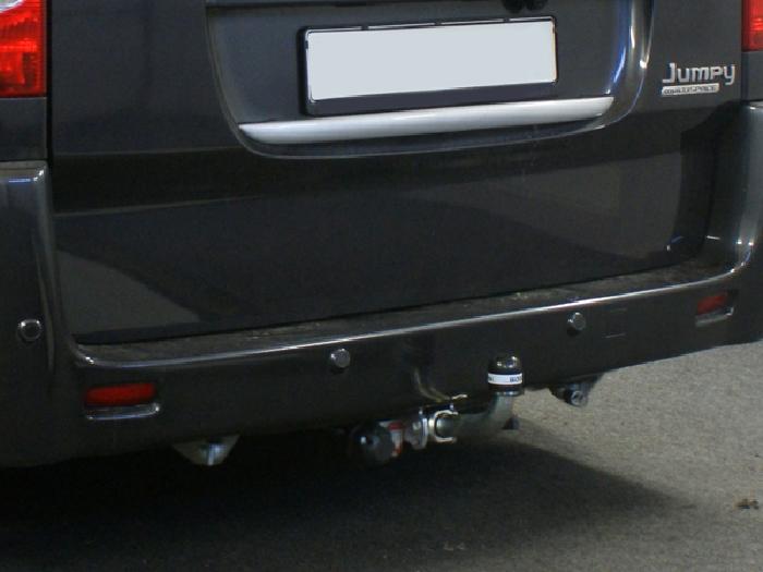 Anhängerkupplung Fiat-Scudo Kasten/ Bus/ Kombi, Fzg. mit Niveauregulierung, Baujahr 2007-
