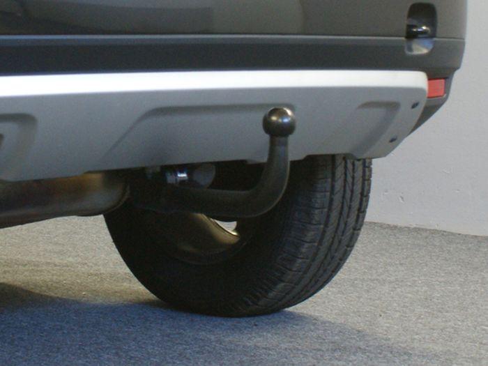 Anhängerkupplung für Dacia-Duster SUV 2WD und 4WD, Baujahr 2010-2012