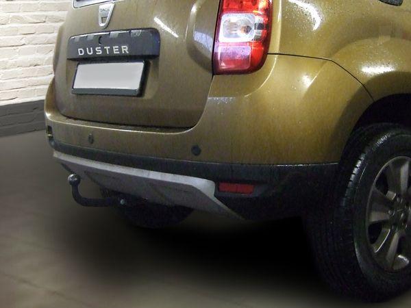 Anhängerkupplung für Dacia-Duster SUV, speziell Fzg. mit LPG Gas 2WD und 4WD, Baujahr 2013-2017