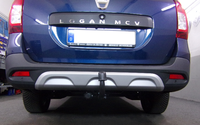 Anhängerkupplung für Dacia-Logan Kombi MCV, spez. Stepway, Baujahr 2017-