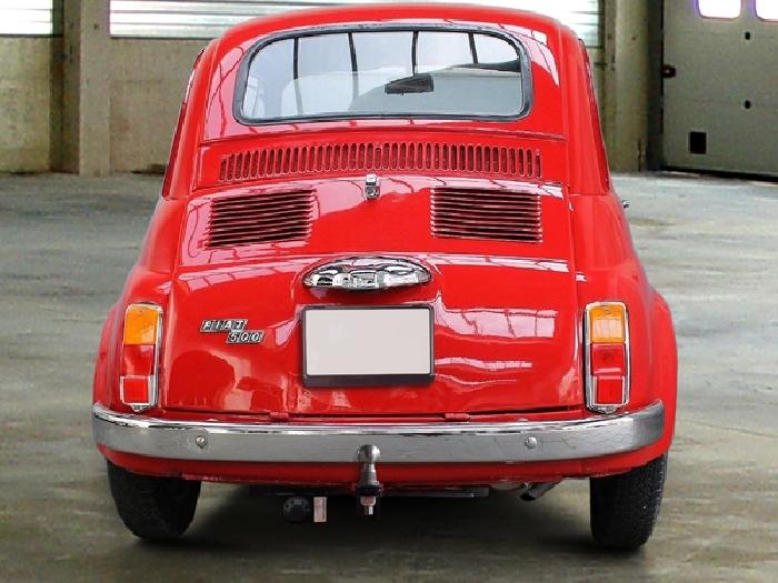 Anhängerkupplung Fiat-500 Fließheck Nuova, luftgekühlt, Baureihe 1957-1975 Ausf.:  feststehend