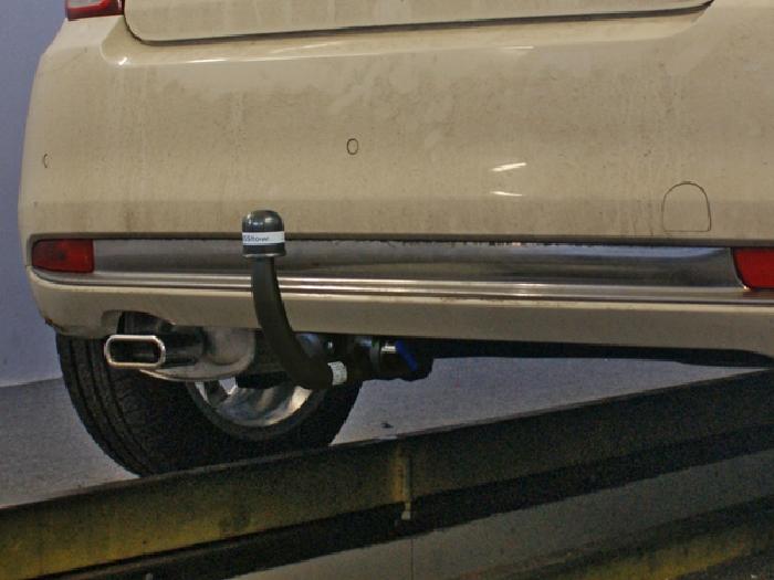Anhängerkupplung Fiat-500 Fließheck, Baujahr 2007-2015 Ausf.:  vertikal