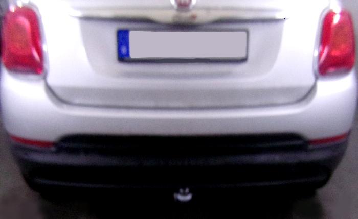 Anhängerkupplung für Fiat-500X - 2014- Typ 334, Off Road look, City look Ausf.:  feststehend