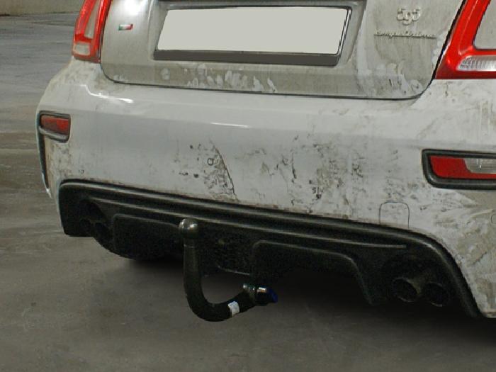 Anhängerkupplung Fiat-500 Cabrio Abarth Carbrio, spez. Abarth 500, 595, Baujahr 2016-