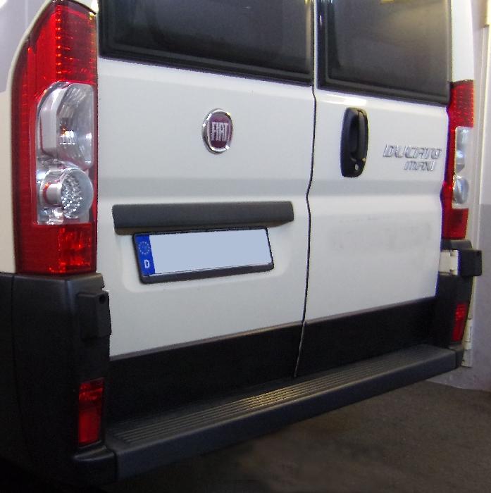 Anhängerkupplung Fiat Ducato Kasten, Bus, alle Radstände L1, L2, L3, L4, XL, Baureihe 2011-2014  feststehend