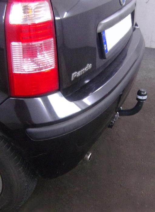 Anhängerkupplung für Fiat-Panda - 2003-2011 nicht 4x4, nicht Gasantrieb Ausf.:  feststehend