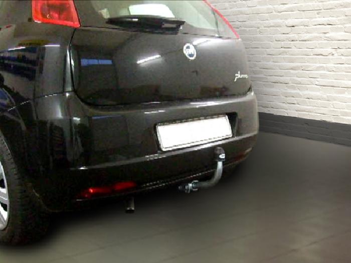Anhängerkupplung Fiat Punto Grande Punto, Baureihe 2006-2009  horizontal