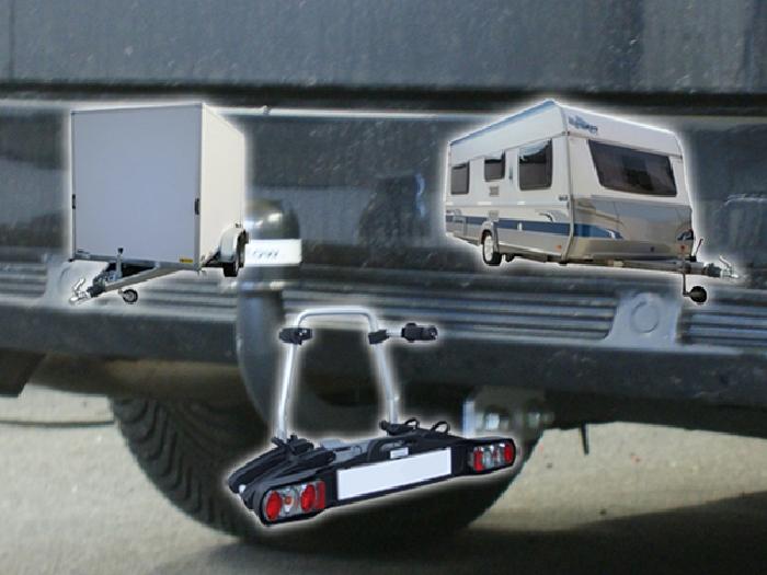 Anhängerkupplung Ford Mondeo Turnier, mit Niveauregulierung, nicht, 4x4, nicht RS,ST, nicht Titanium, Baureihe 2007-2015  feststehend