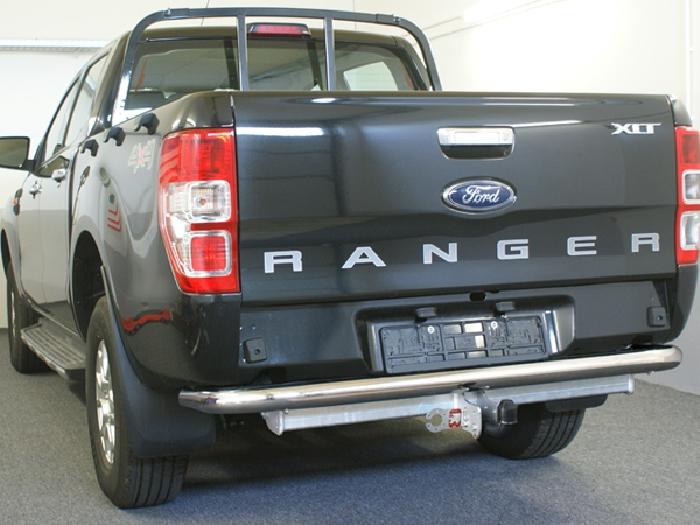 Anhängerkupplung Ford-Ranger 4x4 WD m. Rohrstoßfänger f. Fahrzeuge ohne Elektrosatz Vorbereitung, Baujahr 2016-
