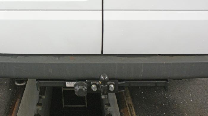 Anhängerkupplung für Ford-Transit Bus, Kastenwagen - 2000-2006 ohne Trittbrett Ausf.:  feststehend