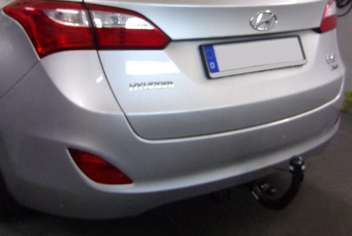 Anhängerkupplung für Hyundai-I30 - 2012-2017 Kombi Ausf.:  vertikal