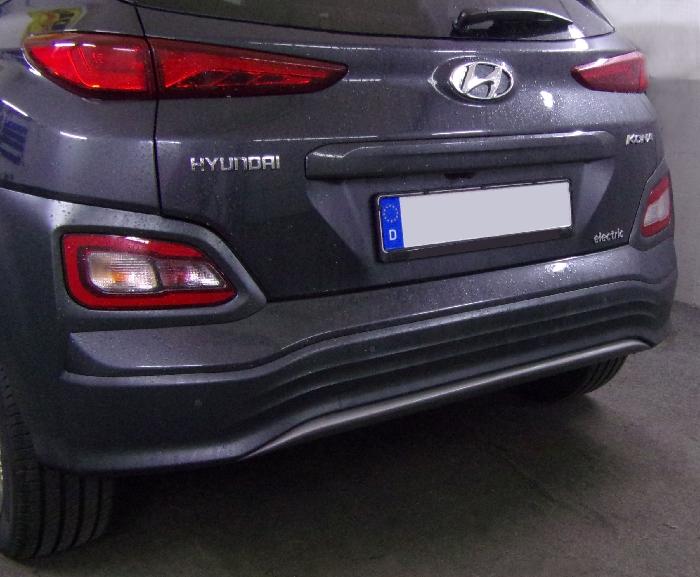 Anhängerkupplung Hyundai-Kona Elektro, nur für Heckträgerbetrieb, Baujahr 2018-