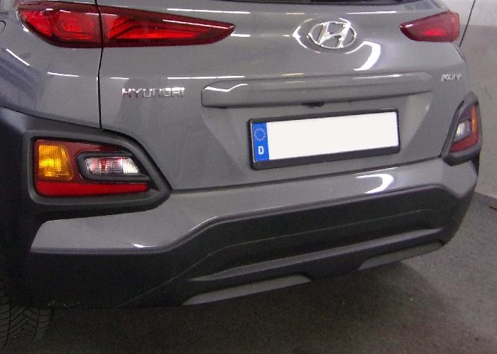 Anhängerkupplung Hyundai-Kona Fzg. ohne E-satz Vorbereitung, spez. AdBlue, Baujahr 2017-