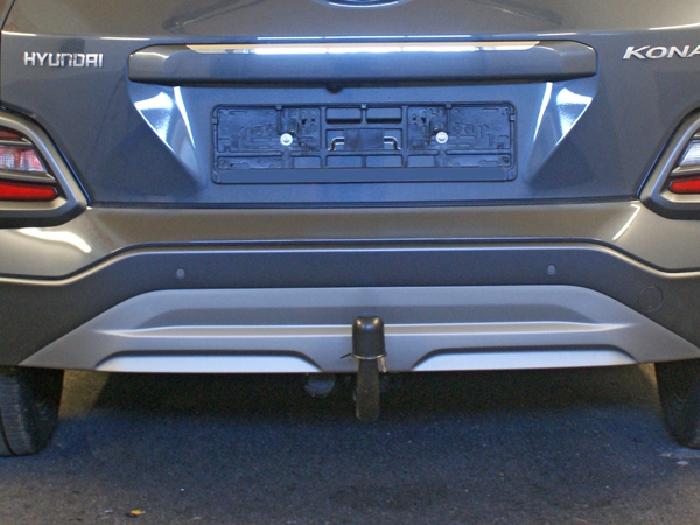 Anhängerkupplung Hyundai-Kona Fzg. mit E-satz Vorbereitung, spez. AdBlue, Baujahr 2017-