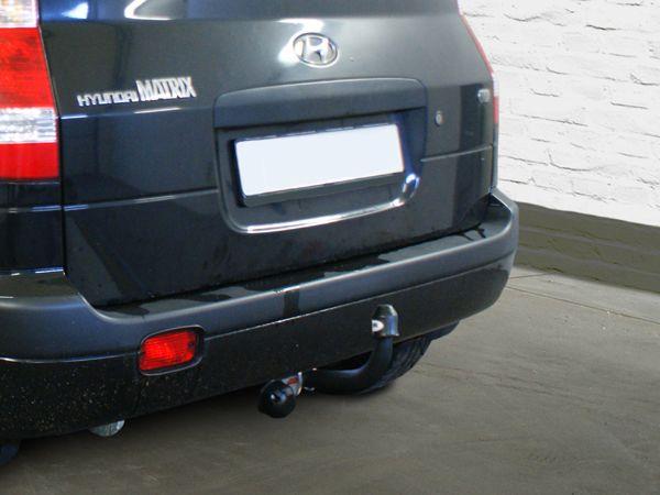Anhängerkupplung für Hyundai-Matrix - 2009- Ausf.:  feststehend