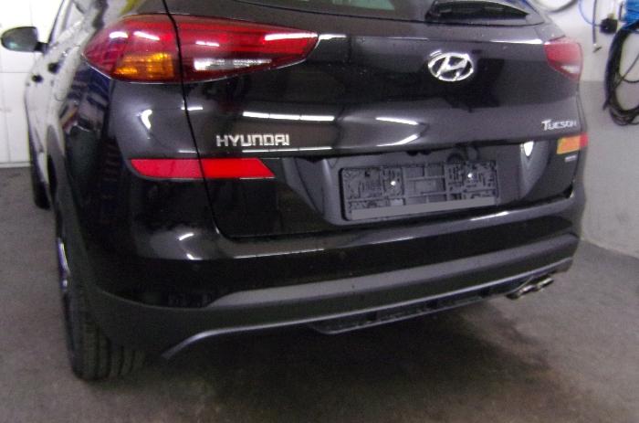 Anhängerkupplung Hyundai-Tucson - 2018-