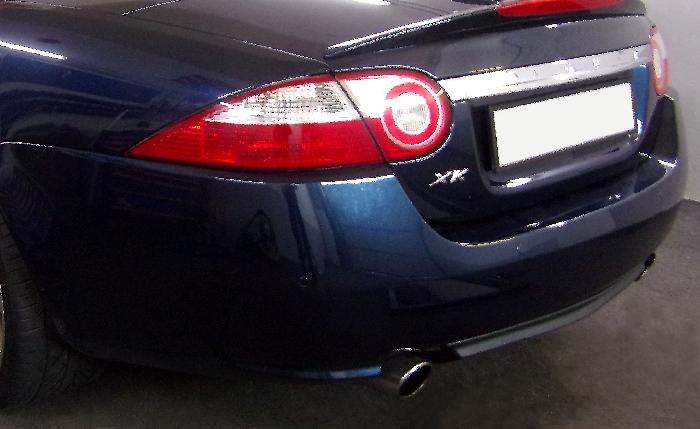 Anhängerkupplung Jaguar XK X 150, nur für Heckträgerbetrieb, Montage nur bei uns im Haus, Baureihe 2005-  vertikal