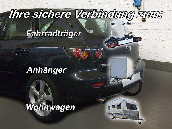 Anhängerkupplung für Mazda-3 - 2003-2009 Fließheck Sport, nicht für MPS Ausf.:  vertikal