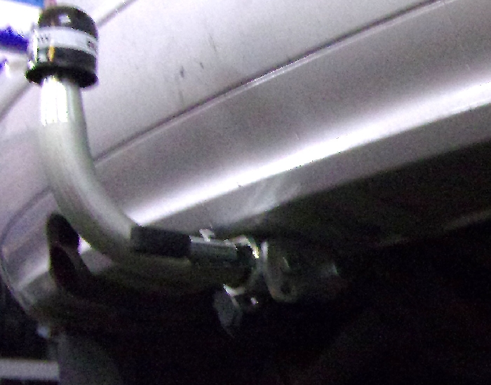 Anhängerkupplung für Mercedes-A-Klasse - 2004- W169 Ausf.:  horizontal