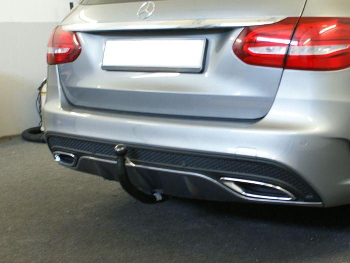 Anhängerkupplung Mercedes-C-Klasse Lim. W205, spez. m. AMG Sport o. Styling Paket, Baujahr 2014-