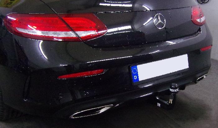 Anhängerkupplung Mercedes-C-Klasse Coupe C205, spez. m. AMG Sport o. Styling Paket, Baujahr 2016-2018