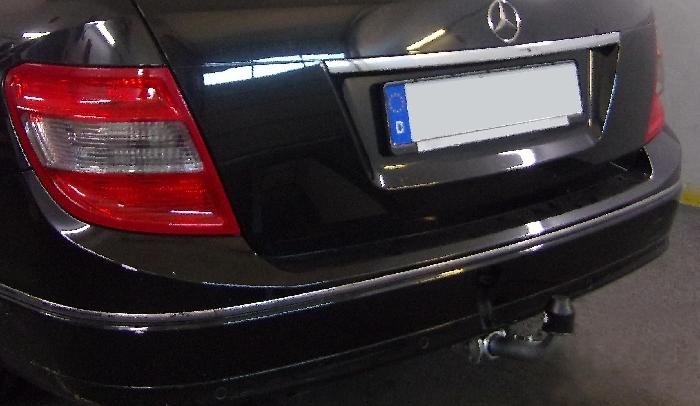 Anhängerkupplung für Mercedes-C-Klasse - 2011- Coupe C204 Ausf.:  horizontal