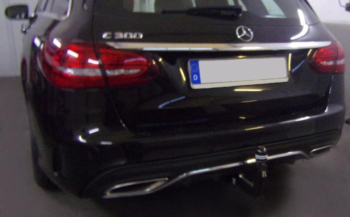 Anhängerkupplung Mercedes-C-Klasse Kombi W205, spez. m. AMG Sport o. Styling Paket, Baujahr 2018-2021