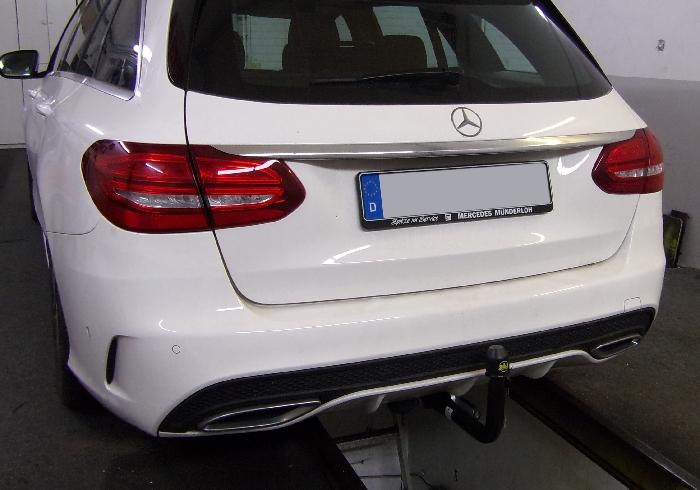 Anhängerkupplung für Mercedes-C-Klasse Kombi W205, spez. m. AMG Sport o. Styling Paket, Baujahr 2014-2018