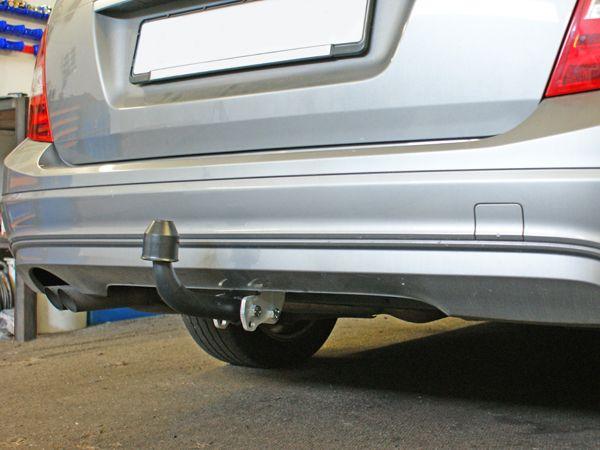 Anhängerkupplung für Mercedes-E-Klasse - 2009- Coupe, Cabrio, C207, A207 Ausf.:  feststehend