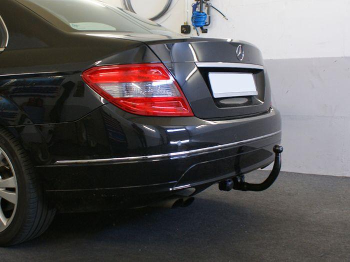 Anhängerkupplung für Mercedes-C-Klasse - 2011-2014 Lim. W204 Ausf.:  vertikal