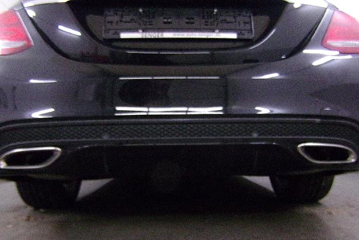 Anhängerkupplung Mercedes-C-Klasse Lim. W205, spez. m. AMG Sport o. Styling Paket, Baujahr 2014-2018