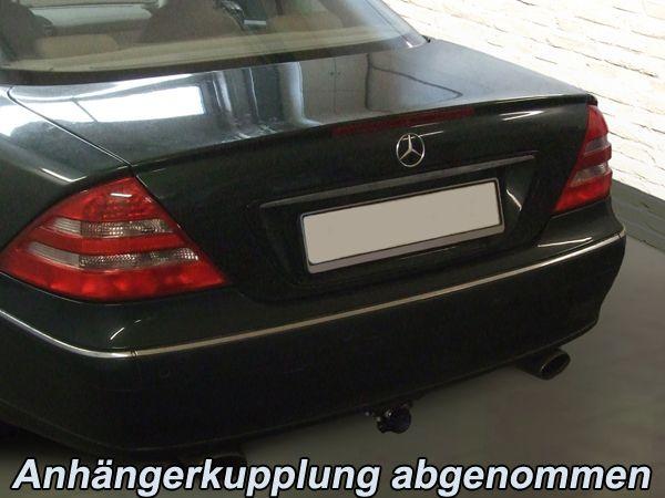 Anhängerkupplung für Mercedes-CL - 1999-2005 C215, 500, 600 Ausf.:  horizontal