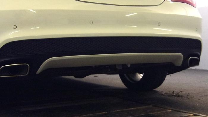 Anhängerkupplung Mercedes-CLA C117, Coupe spez. AMG Sportpaket, Baujahr 2013-