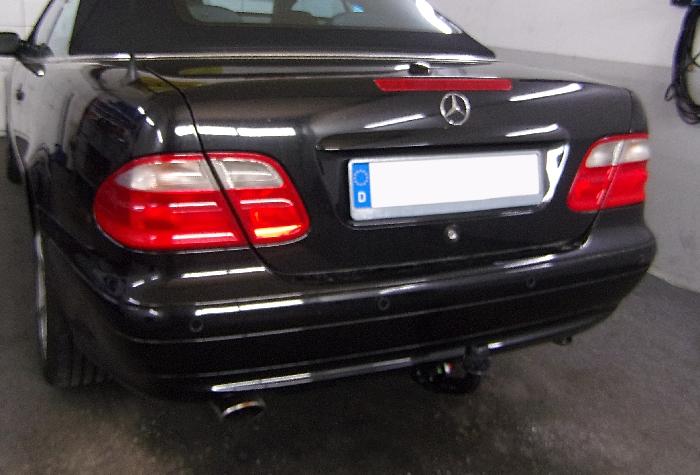 Anhängerkupplung für Mercedes-CLK - 1997-2002 Coupé, Cabrio C208, nicht 430 Ausf.:  vertikal