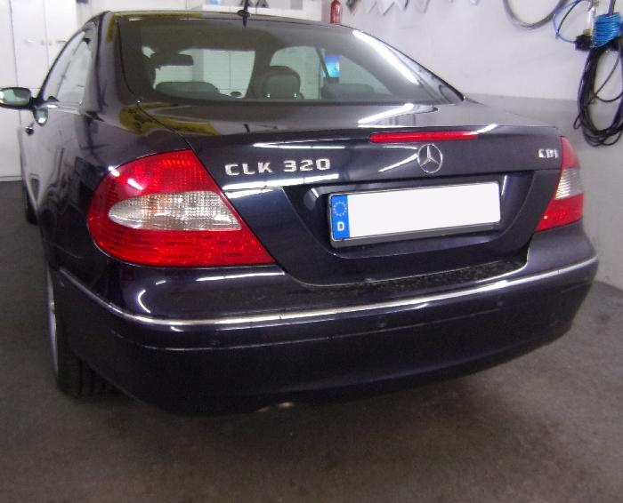 Anhängerkupplung Mercedes-CLK Coupé C209, Baujahr 2002-