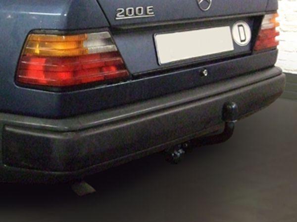 Anhängerkupplung Mercedes-E- Klasse Lim. /Coupé/ Cabrio W 124, inkl. 4x4, 4-Matic, Baujahr 1985-1993