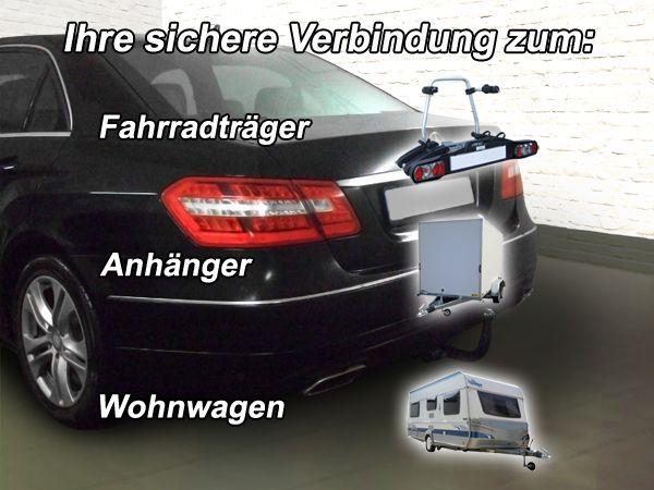 Anhängerkupplung Mercedes-E-Klasse Limousine W 212, Baujahr 2011-