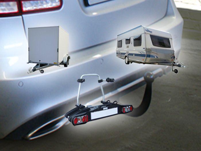 Anhängerkupplung für Mercedes-E-Klasse - 2011- Kombi W 212 Ausf.:  vertikal