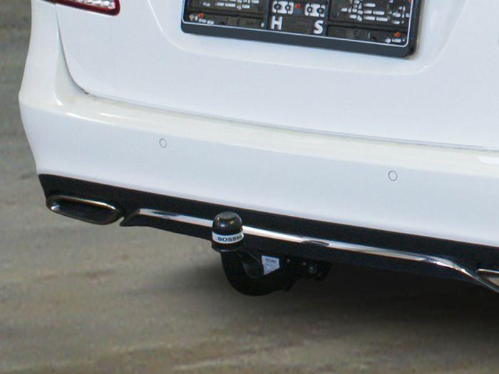 Anhängerkupplung für Mercedes-E-Klasse - 2011- Limousine W 212 Ausf.:  feststehend
