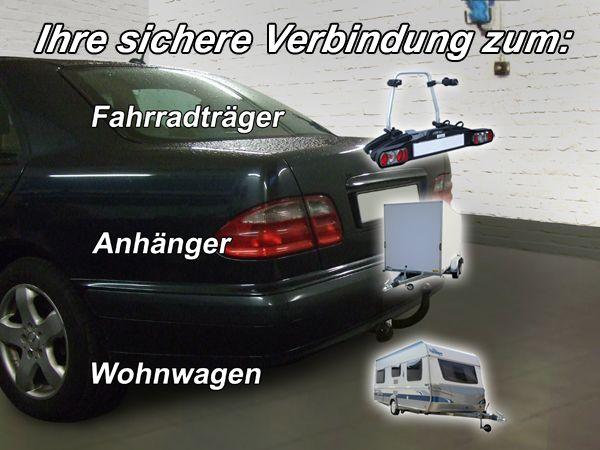 Anhängerkupplung Mercedes-E-Klasse Limousine W 210, inkl. 4x4, 4-Matic, Baujahr 1995-2002