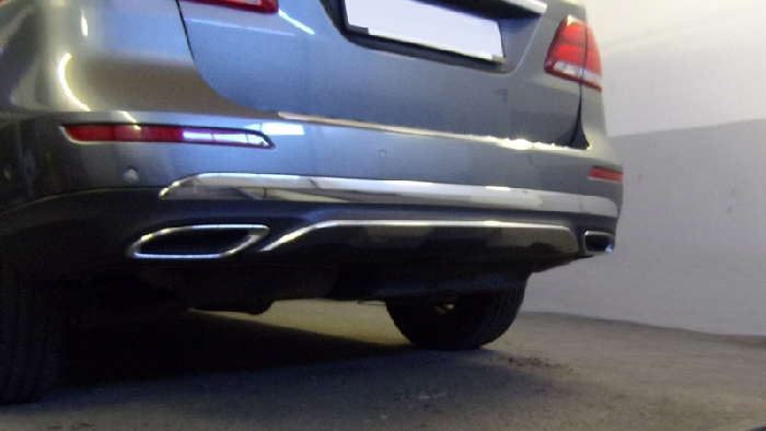 Anhängerkupplung Mercedes-M-Klasse W166, Baujahr 2011- Ausf.:  vertikal