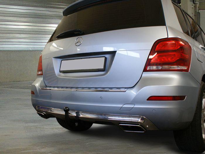Anhängerkupplung für Mercedes-GLK - 2008- X204, spez. m. AMG Sport o. Styling Paket Ausf.:  vertikal