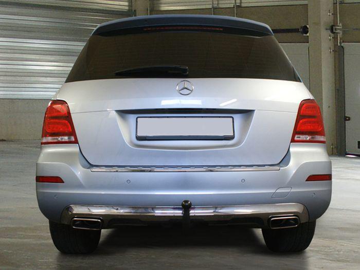Anhängerkupplung Mercedes-GLK X204, Baujahr 2008- Ausf.:  vertikal
