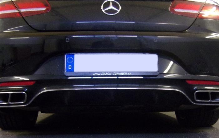 Anhängerkupplung für Mercedes-S- Klasse A217 Cabrio, nur für Heckträgerbetrieb, Baujahr 2017-