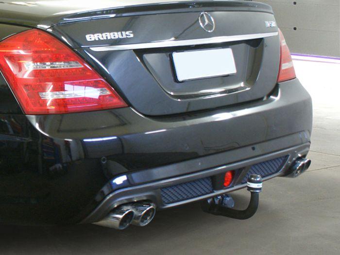 Anhängerkupplung Mercedes-S- Klasse W221, spez. BRABUS Paket, Baujahr 2006-